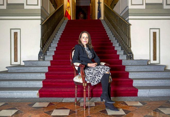 La directora del Centro de Estudios Constitucionales, Yolanda Gómez