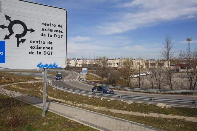 Centro de Exámenes de la DGT (Direccion General de Trafico) en Móstoles.