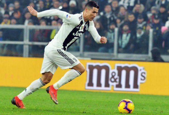 Cristiano, durante el Juventus-Inter del viernes en Turín.