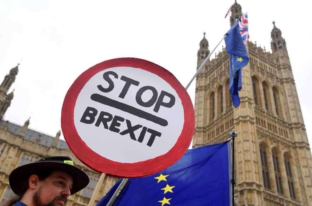 Protesta contra el Brexit en Londres.