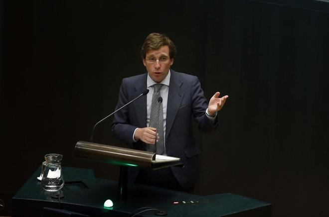 José Luis Martínez Almeida, portavoz del PP.