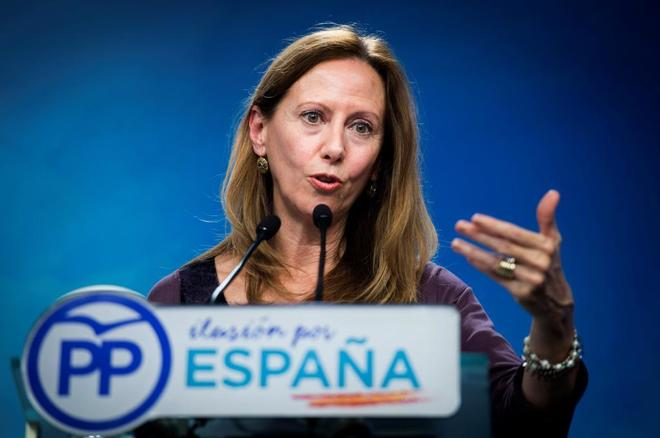 La vicesecretaria de Organización del PP, Marta González.