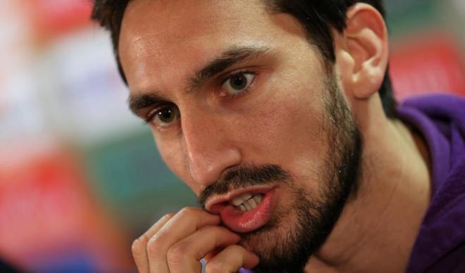 Davide Astori, durante una rueda de prensa.