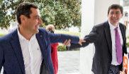 Los candidatos a la presidencia de la Junta de Andalucía de PP y...