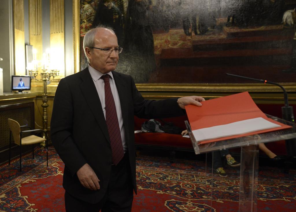 El senador y expresidente de la Generalitat, José Montilla