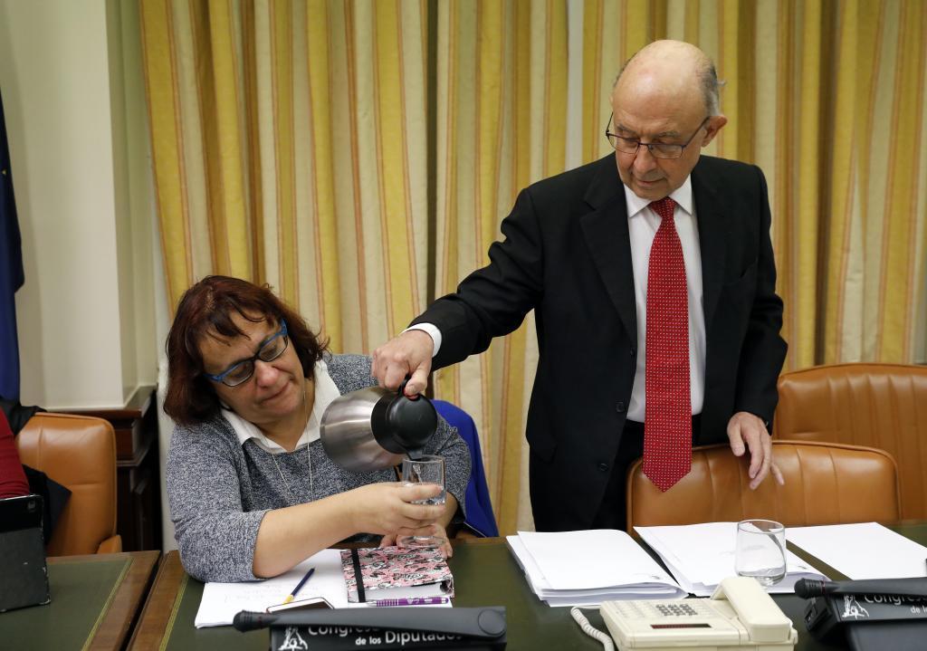 El presidente de la comisión de Economía del Congreso de los Diputados, Cristóbal Montoro.