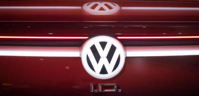 Frontal del Volkswagen VW I.D. Vizzion