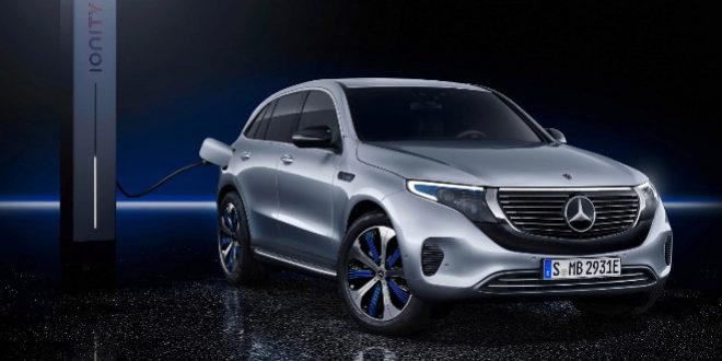 El Mercedes-Benz EQC 100% eléctrico