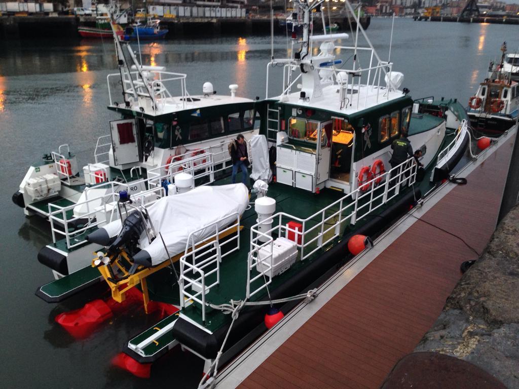 El barco Río Sella se suma al Servicio Marítimo de la Guardia Civil en Gipuzkoa
