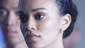 La actriz Pearl Thusi, en la serie 'Quantico'.