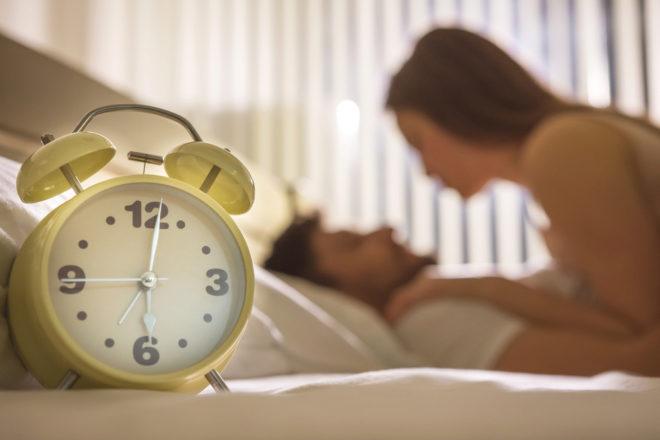 La mayoría de la gente prefiere que el sexo dure poco rato.