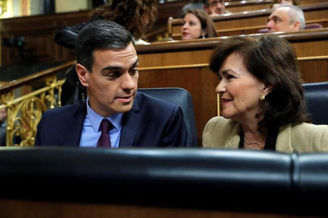"""Sánchez: Carga contra la """"desesperación"""" de Quim Torra y su """"manipulación inaceptable"""""""