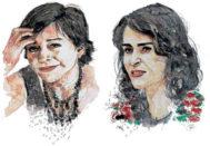 Las periodistas mexicanas Anabel Hernández y Lydia Cacho.