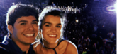 Alfred y Amaia en un concierto en El Prat