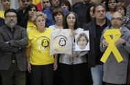 Actos de trabajadores del Parlament de Cataluña en protesta por la prisión provisional de Carme Forcadell.