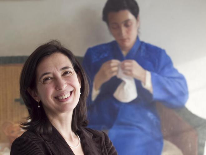 Inés Fernández Ordóñez.