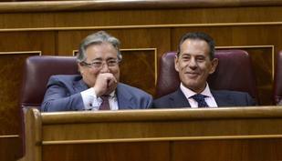 El diputado del PP y ex alcalde de Sevilla, Juan Ignacio Zoido, en el...