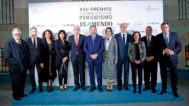 Acto de entrega de los XVII Premios Internacionales de Periodismo de EL MUNDO.