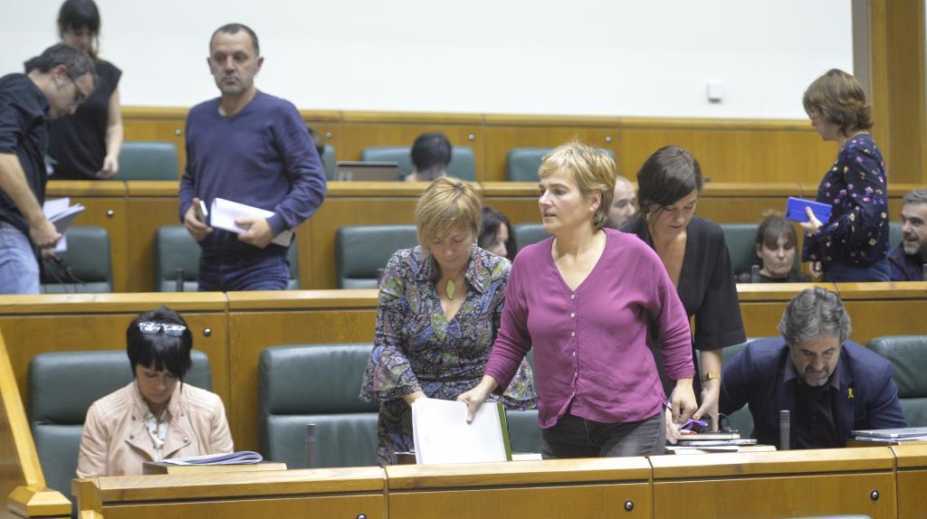 Grupo parlamentario de EH Bildu.