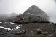 Las montañas de Yulong