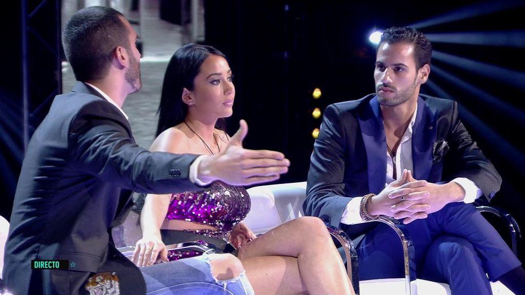 Suso, Asraf y Aurah en GH VIP 6