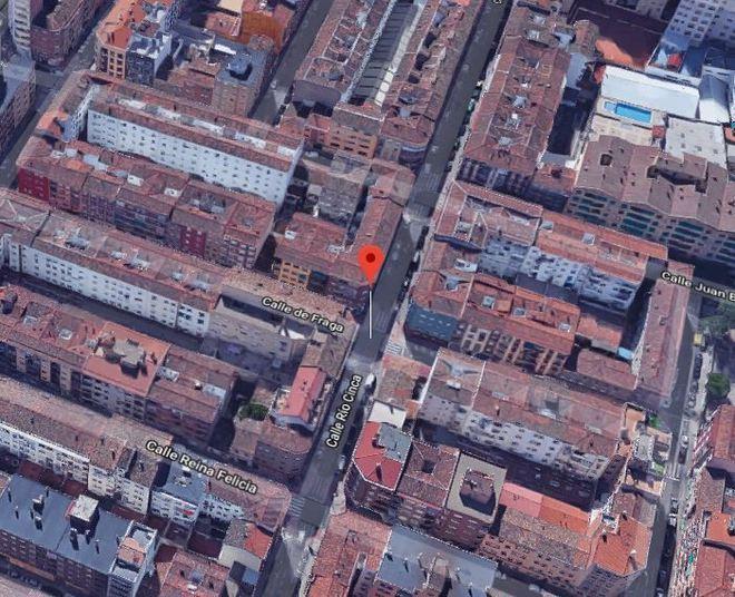 La calle Cinca de Zaragoza, donde sucedieron los hechos.