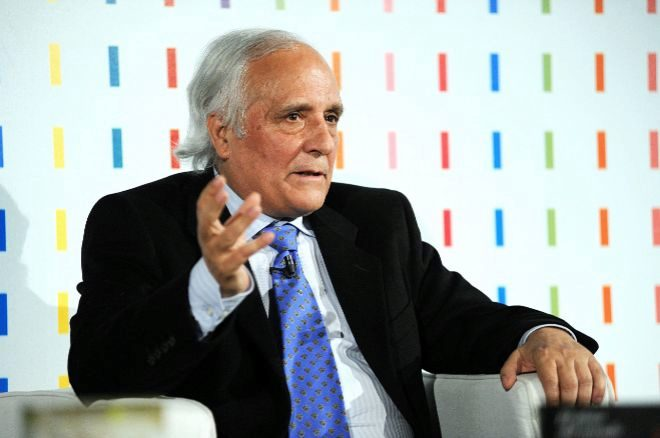 Raúl del Pozo, en la presentación de los premios primavera de novela.