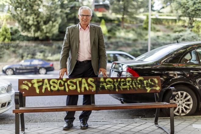 El ex magistrado Baltasar Garzón posa para una entrevista en mayo de 2017.