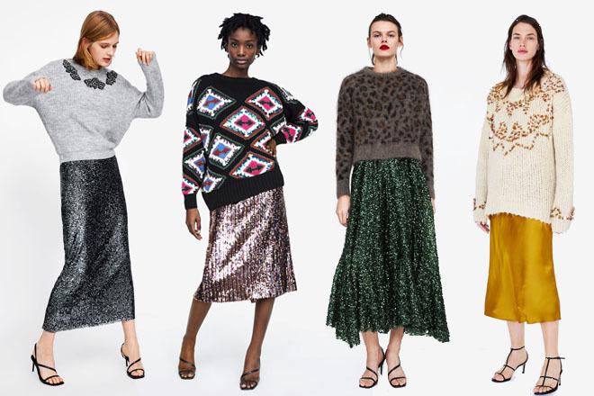 Así es como Zara propone que recicles tus vestidos de fiesta para ir ... f8c86702986f