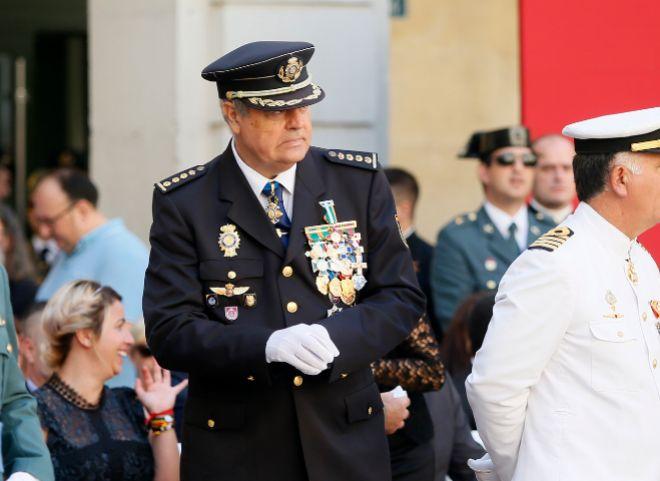 El posible relevo del comisario Cid frena una nueva protesta policial