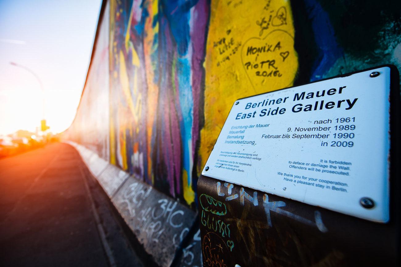 El 9 de noviembre de 1989 caía el Muro de Berlín....