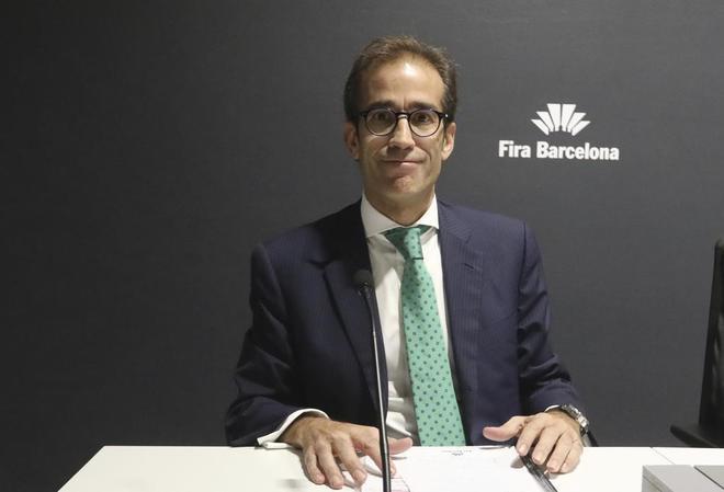 El consejero delegado de MATHolding y nuevo presidente de Fira de Barcelona, Pau Relat.
