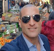 Giuseppe Piraino (43 años) es padre de tres niñas.