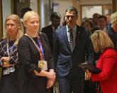 El presidente del Gobierno, Pedro Sánchez, en Bruselas para asistir...