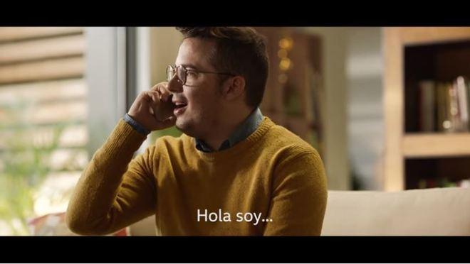 'Edu', Enrique Espinosa, en el nuevo anuncio de Volkswagen.