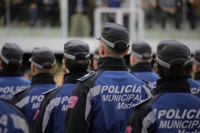 Última promoción de 49 policías municipales del Ayuntamiento de Madrid en noviembre.