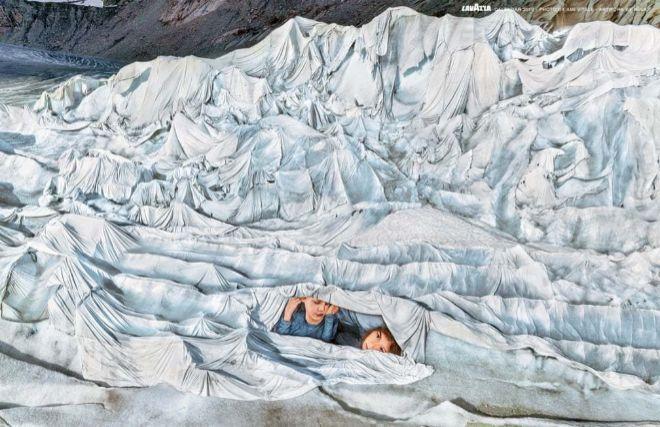 El sacrificio de las personas buenas: el Calendario Lavazza 2019 rinde homenaje al planeta Tierra
