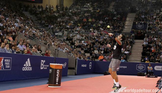Pablo Lima, durante una de las semifinales del Master Final 2018.