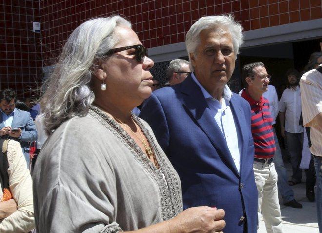 Chiquetete y su mujer, Carmen Gaona.