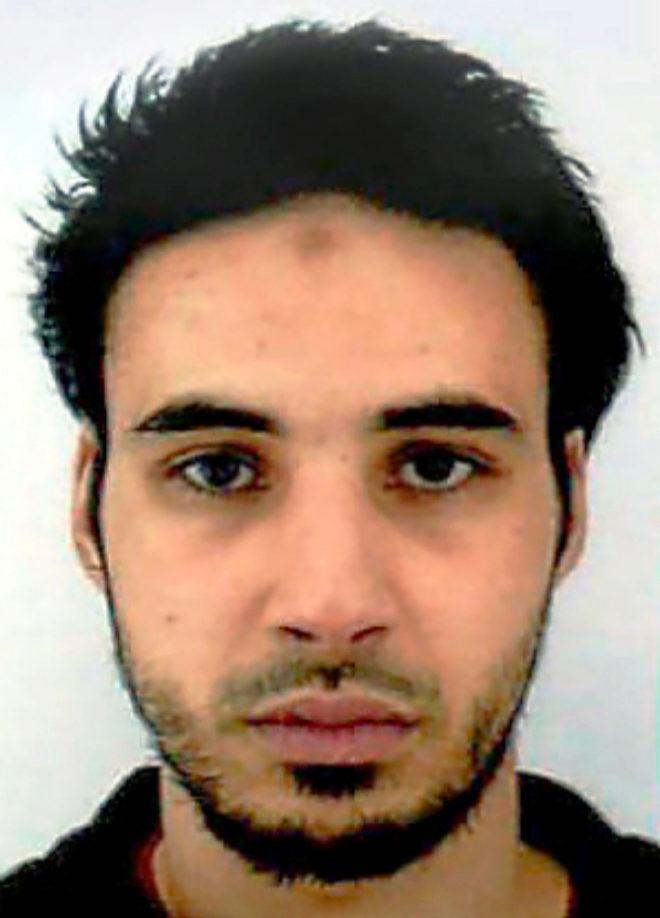 Chérif Chekatt, de 29 años. Nacido en Francia, fue condenado por primera vez a los 13 años.