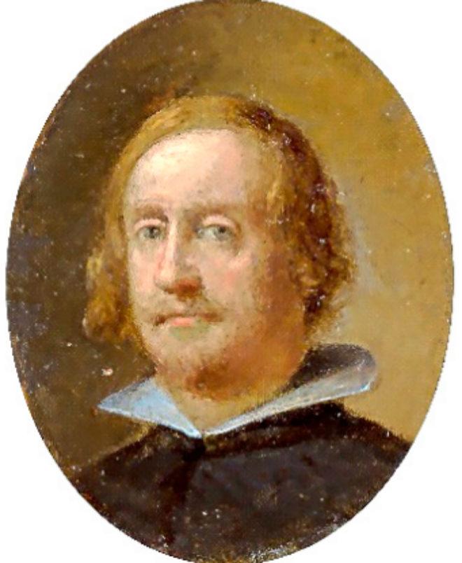 La miniatura de don Fernando, virrey de los catalanes. Se sospecha que fue pintada por Velázquez.