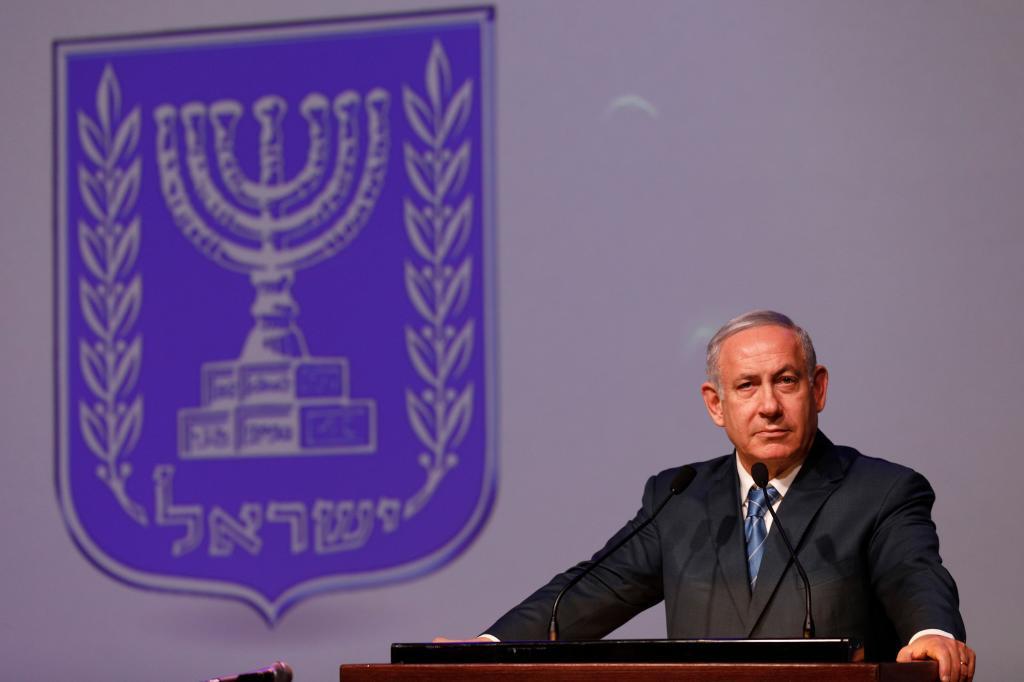 El primer ministro israelí, Benjamin Netanyahu, durante un acto oficial en Jerusalén.