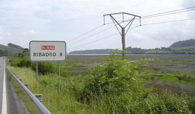 La N-642 que va hacia Ribadeo (Lugo) es el punto negro con más riesgo