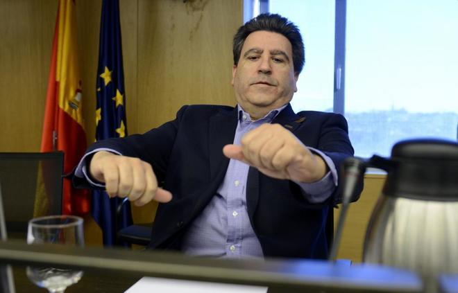 David Marjaliza, durante una comparecencia en la comisión de...
