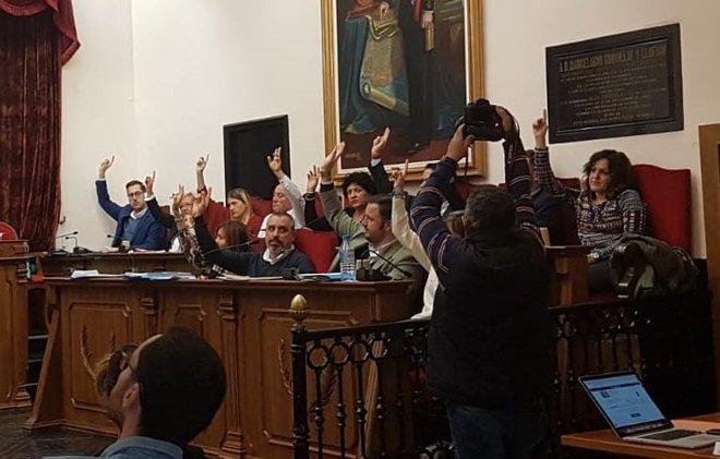 La oposición ha votado en contra de los presupuestos.