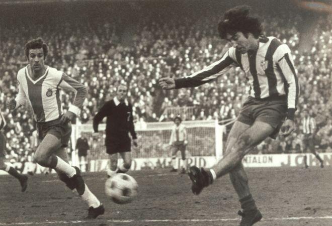En la memoria de los hinchas del Atlético de Madrid, el Panadero...