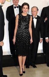 La diferencia con el look cuando estrenó este vestido de Carolina...