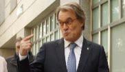 Artur Mas y Francesc Homs, junto a las ex consejeras Joana Ortega e...