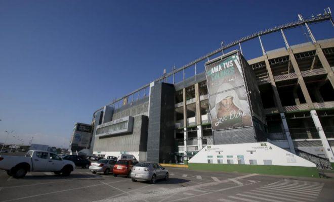 El estadio Martínez Valero de Elche, en una imagen de julio de 2015.