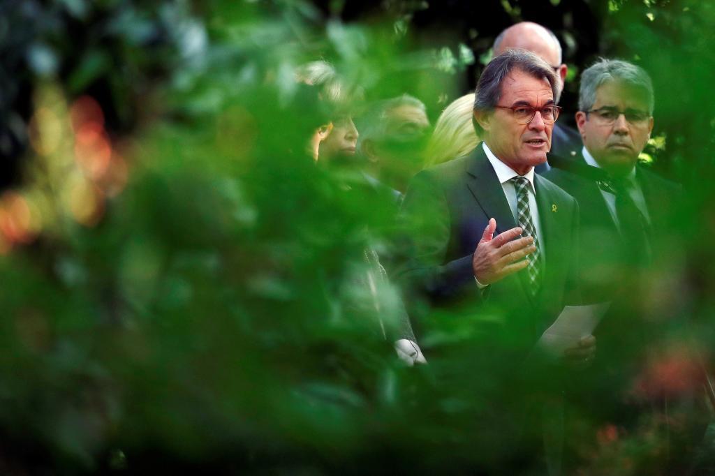 Artur Mas en una imagen de archivo tras conocer la sentencia del Tribunal de Cuentas